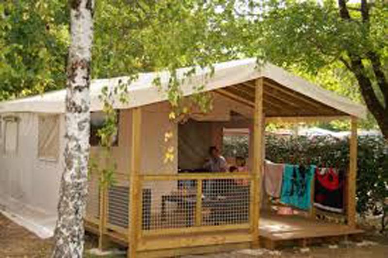 , Camping les Gorges du Chambon