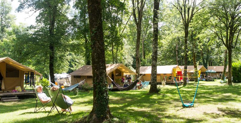 , Camping du Château de Poinsouze