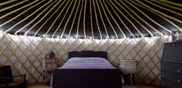 Quirky Camping Eco Yurt Hideaways