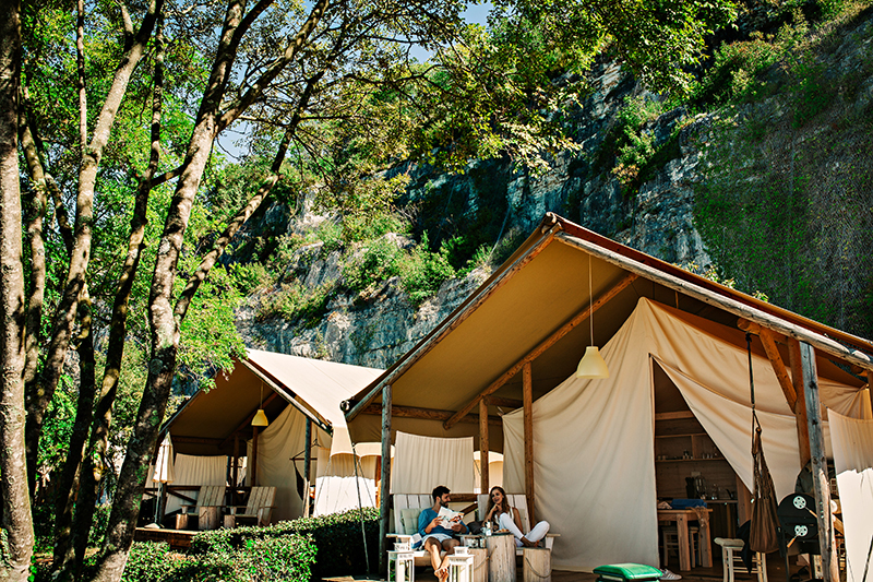 , Camping Polari