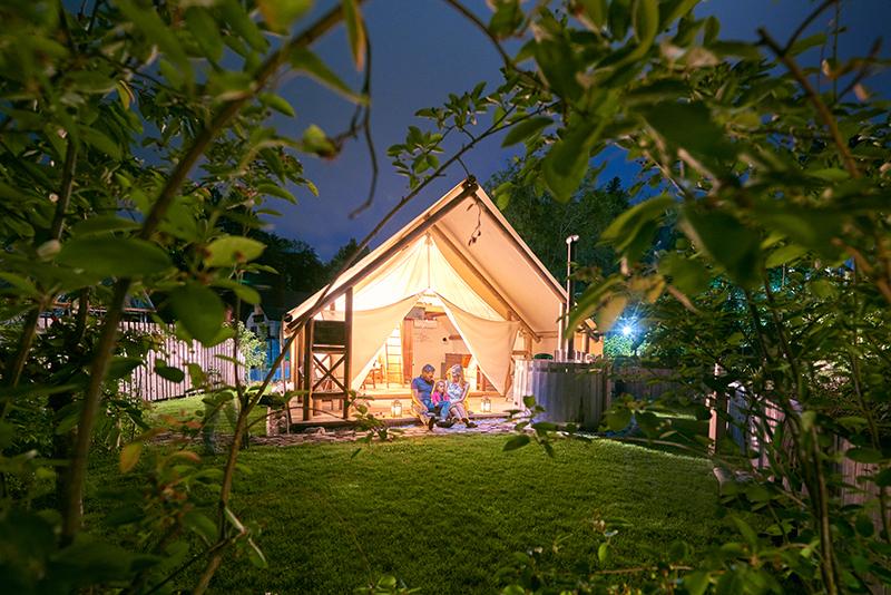 Glamping Garden Village Bled