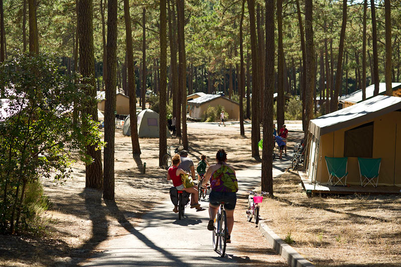 Glamping Camping Huttopia Lac de Carcans