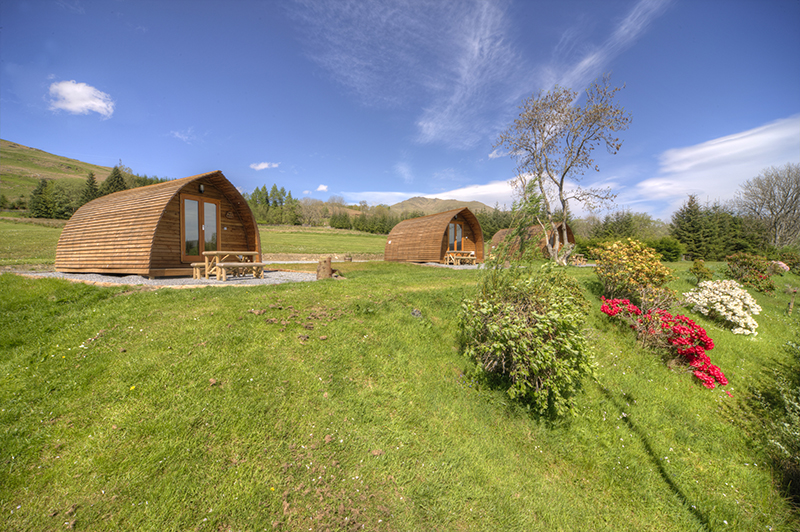 Glamping Loch Tay Highland Lodges