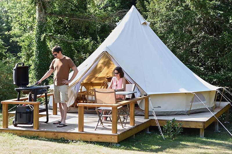 , Camping Huttopia Gorges du Verdon