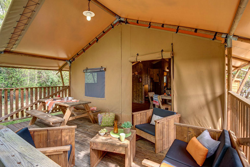 Glamping Glamping4All / Le Col Vert